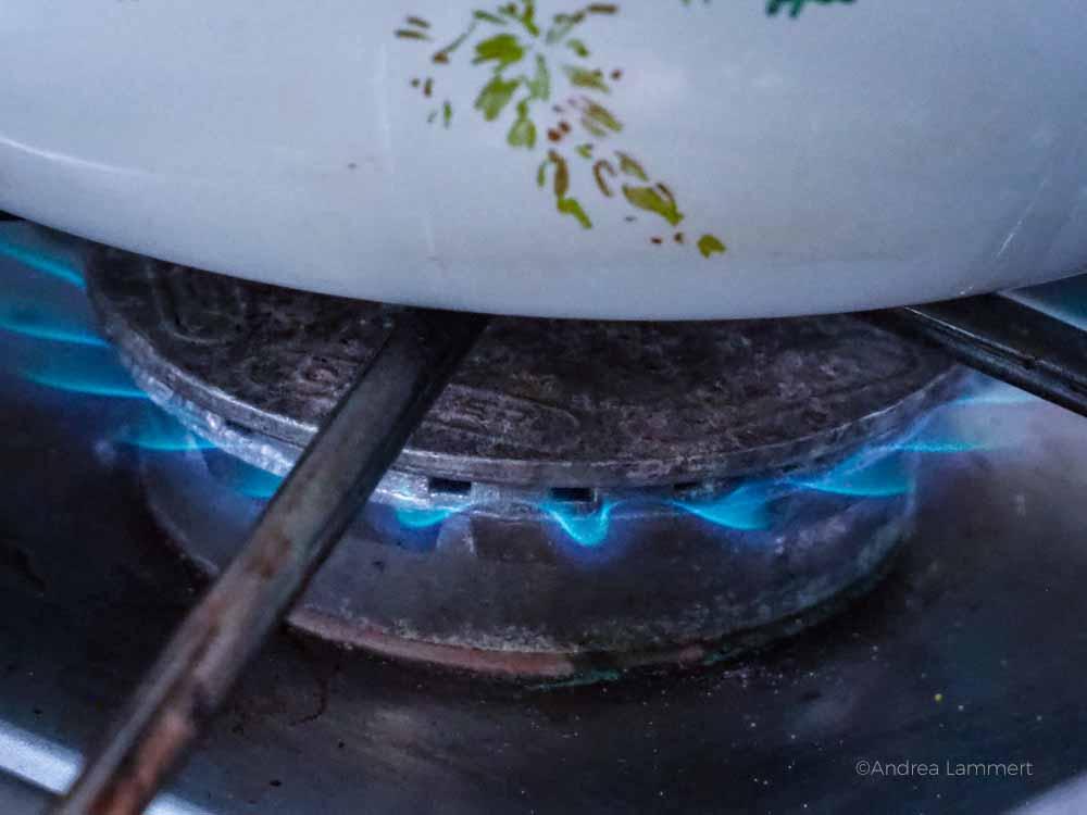 Gasplatte im Womo defekt - was nun?