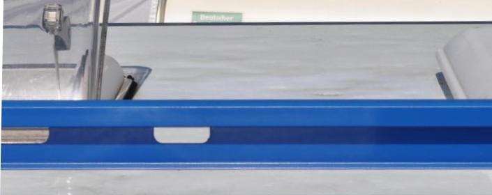 Hagelschaden auf dem Wohnmobildach: So kann ein Hagelschaden aussehen.