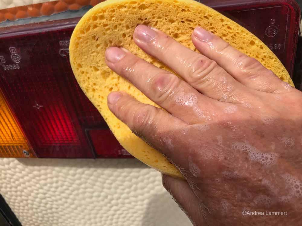 Wohnmobil waschen, Tipps und Trickts