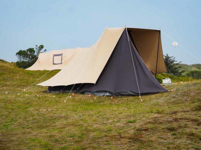 Sturmzelt, Camping