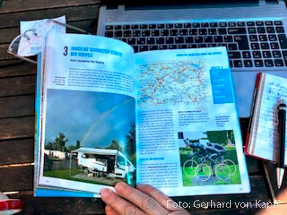 Wohnmobil Tourenbuch