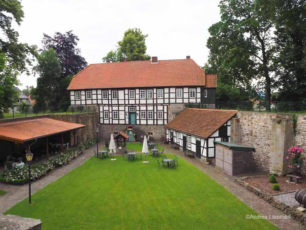 Die Burg von Coppenbrügge