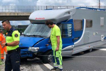Unfall auf der slowenischen Autobahn