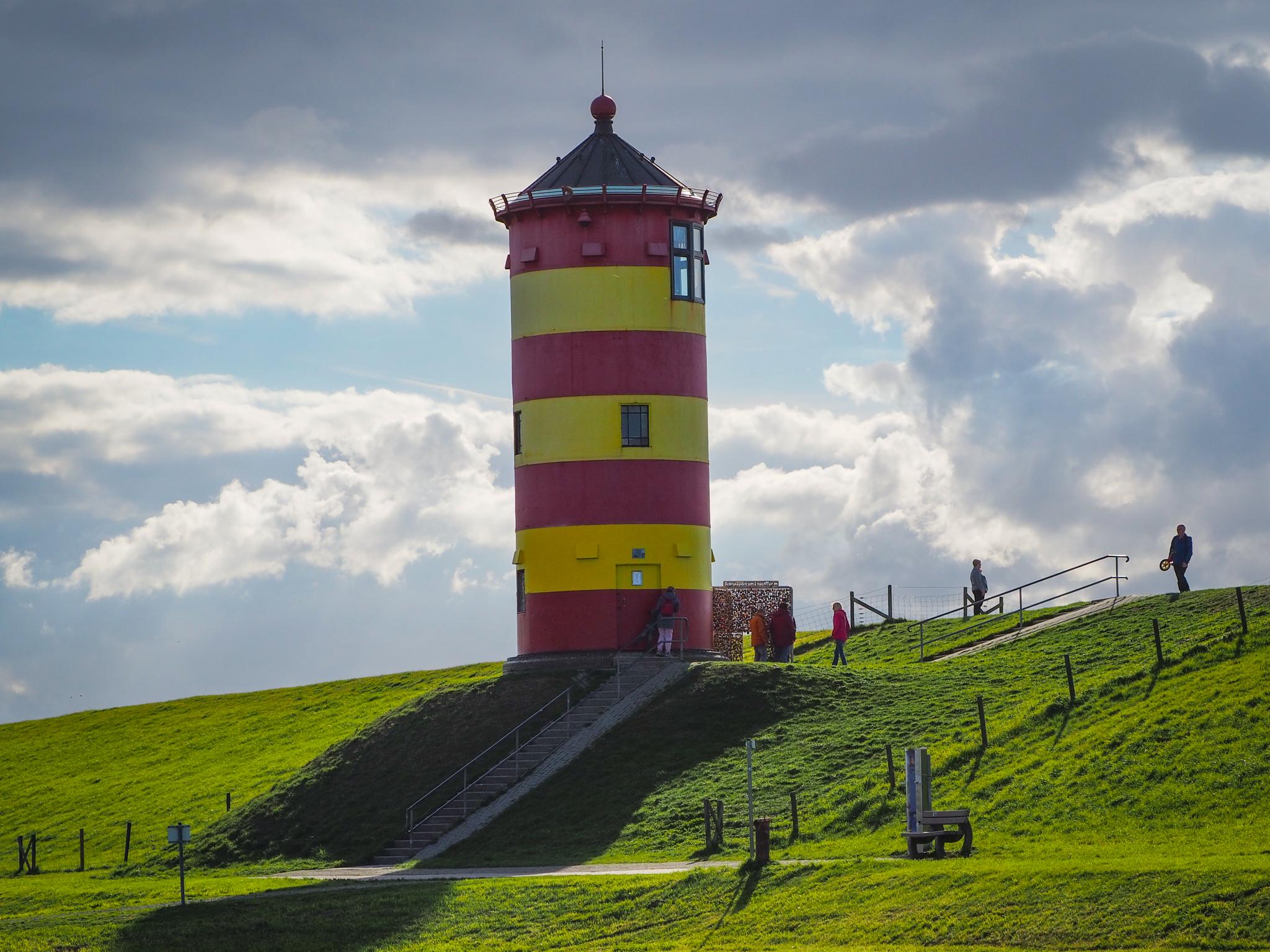 Leuchtturm von Pilsum in Ostfriesland