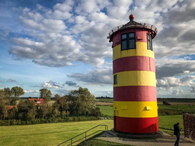 Der Otto-Leuchtturm bei Pilsum