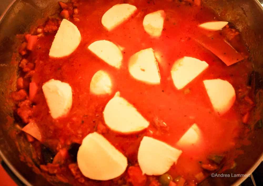 Lasagne aus der Pfanne, Rezept