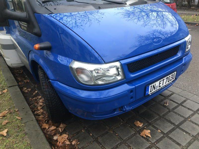 Nach dem Unfall wie neu: Der Dethleffs Fortero.