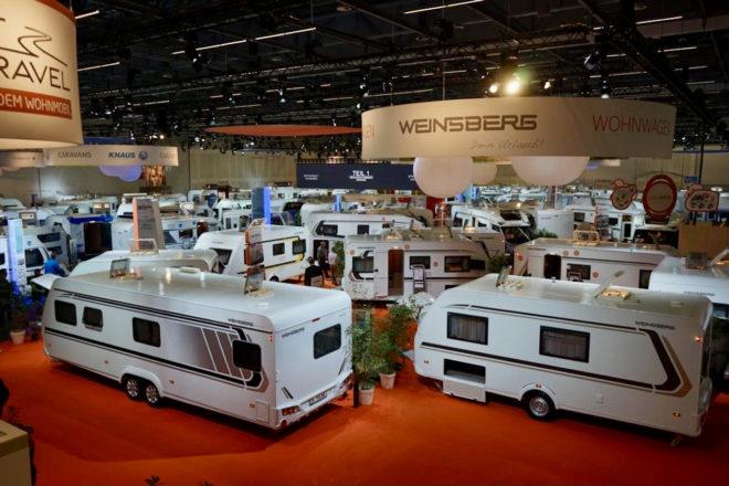 Messe Stuttgart CMT Caravan- und Wohnmobile: Foto: von Kapff