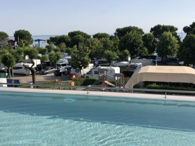 Camping La Rocca, Gardasee, Adults-only-Pool