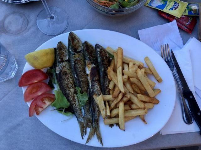 Fisch ganz frisch aus dem Gardasee. Foto: Gerhard von Kapff