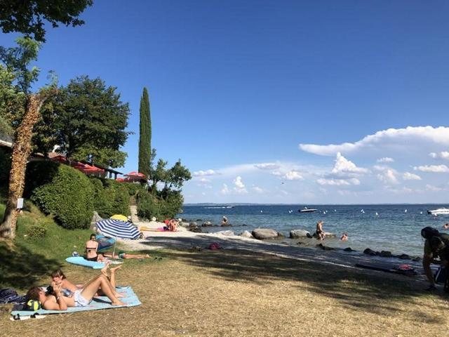 Camping Fornella Strandbereich mit Restaurant